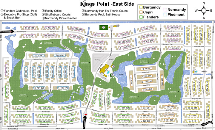 Community Maps Kings Point Delray